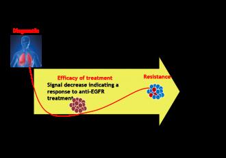 IMAkinib radiotraceur EGFR suivi clinique